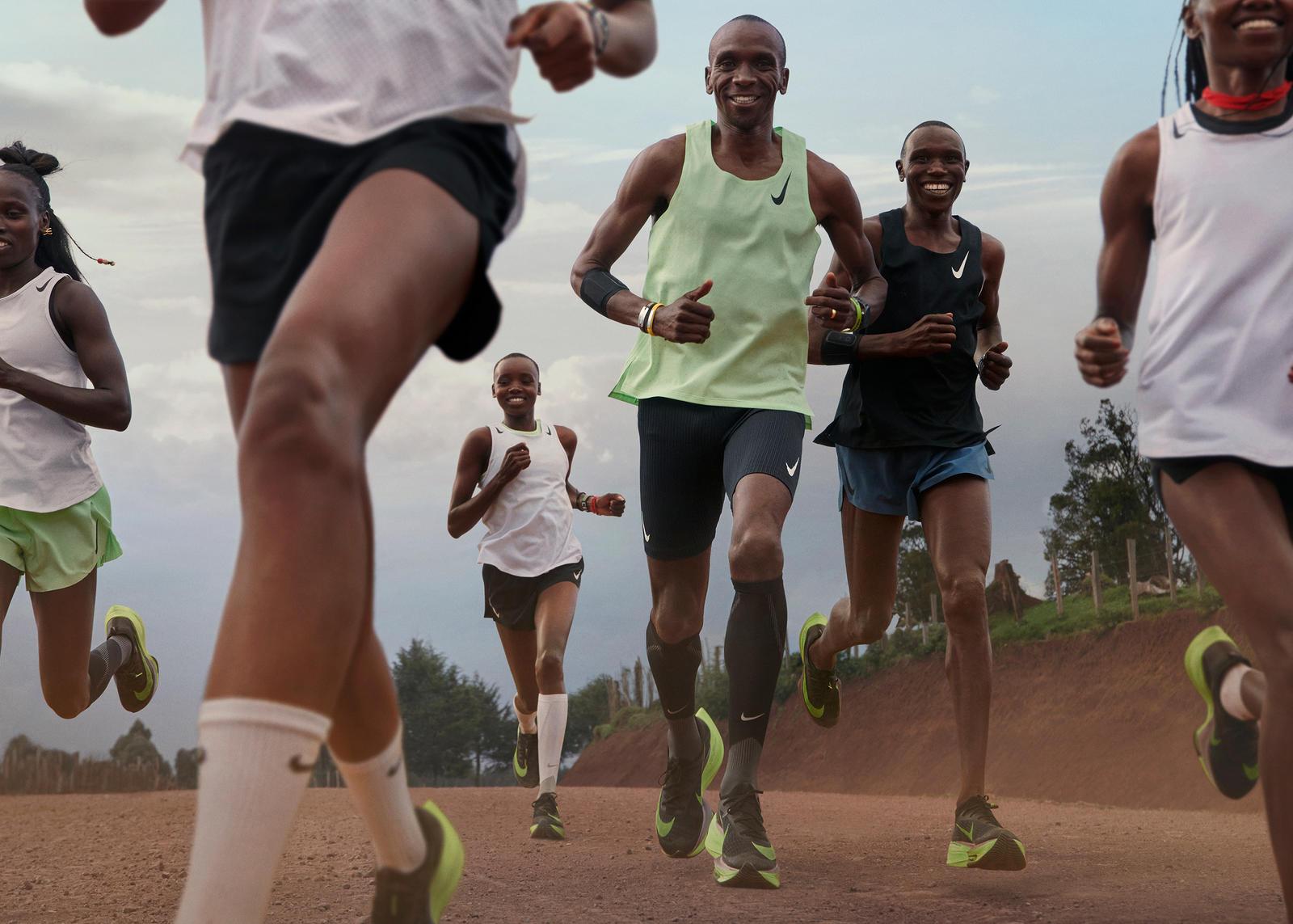 La Nike Alphafly bientôt acceptée en compétition